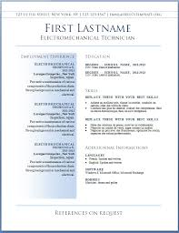 Free Cv Template Best Resume Templates