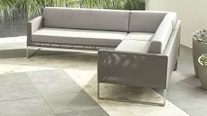 Crate And Barrel Axis Sofa Leather by Crate And Barrel Davis Sectional Sofa Reviews Scifihits Com