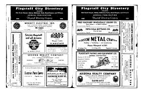 1958 Flagstaff City Directory - Flagstaff Telephone And City ...
