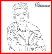 Amazing Carlos From Descendants Son Of Cruella De Vil Coloring Page