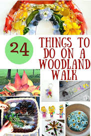 Best Outdoor Crafts And Activities For Kids Images On Things To Do With Nature A Woodland Walk Craft