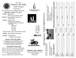 100 Safe House Riverside Hackers For Kids Golf Classic Operation