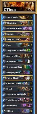 journey to un goro deck tech c thun warrior old guardian s blog