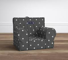 Grey Star Glow In The Dark Anywhere Chair®   Pottery Barn Kids 17 Pottery Barn My First Anywhere Chair How To Re Cushion Foil Star Kids Ca For Half The Price Refunk Junk Home Interior Design Baby Fniture Bedding Gifts Registry Vs Decoration Capvating Chairs 85 For Comfortable Margherita Missoni