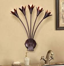 american flower wall sconce creative bedside wall l retro led
