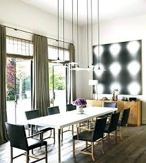 Rectangle Dining Room Lighting Modern Chandeliers Minimalist Contemporary Crystal Cool