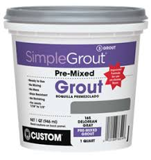Tilelab Grout And Tile Sealer Sds by Simplegrout Pre Mixed Grout Custom Building Products