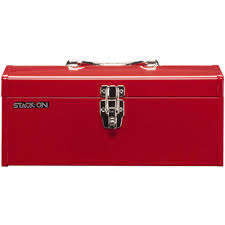 Stack On Security Cabinet Accessories by Stack On 16 In Hip Roof Steel Tool Box In Red R 516 2 The Home