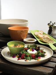 bamboo bowls and platters made from 100 organic sustainable
