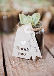 Combined Favors And Place Cards