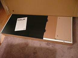 Malm 6 Drawer Chest Package Dimensions by Assembling The Ikea Malm 6 Drawer Dresser Moore Diy