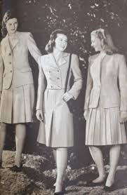 1940s Teenager Clothing Suits Skirt And Jacket