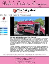 Baby Love (In The Media) - Baby's Burgers - Houston - 844-GO-BABYS ... Entre To Black Paris New Soul Food The Truck Trucks At Circuit Of Americas Best Food Trucks Try This Is It Bbq June 2015 Press Release Prestige 10 Best Right Now Houstonia 1600 Custom 101 In America For 2013 Pinterest Emerson Fry Bread Home Phoenix Arizona Menu Prices Houston Ranks 6 On Cities List Abc13com In Sale For Good Cause Price On Commercial Best Food Trucks 12 Cities Youtube