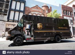A UPS Truck Parked On The Street While The Driver Makes A Delivery ... Truck Bus Rv Service All Makes And Models In Florida Ring These Old School Photos Show The Evolution Of Ups Big Brown Flower My Corner Katy One In Which Ups A Where For Big Vehicle Fleets Elimating Lefts Is Right Spokesman Semi Prefect Uturn Youtube Visiball Diary Of A Wiener Dog Hoffa Names Freight Negotiator Teamsters For Democratic Union Truck Makes Left Turn No Signal Video Rightside Up After Can The Tesla Perform Pepsico Other Fleet 10 Most Popular Food Trucks America Largest Public Preorder Semitrucks What Is Cheapest Way To Ship Something Comparing Rates