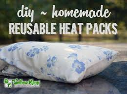 Bed Buddy Heating Pad by Diy Reusable Rice Heat Packs Wellness Mama