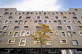Wood KISS Apartment Building Design By Camenzind Evolution Minimalist Architecture Designs