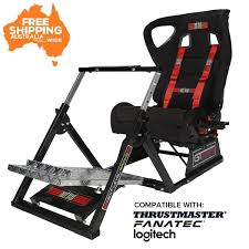 Next Level GTultimate Racing Simulator Cockpit V2 Redragon Coeus Gaming Chair Black And Red For Every Gamer Ergonomically Designed Superior Comfort Able To Swivel 360 Degrees Playseat Evolution Racing Video Game Nintendo Xbox Playstation Cpu Supports Logitech Thrumaster Fanatec Steering Wheel And Pedal T300rs Gt Ready To Race Bundle Hyperx Ruby Nordic Supply All Products Chairs Zenox Hong Kong Gran Turismo Blackred Vertagear Series Sline Sl5000 150kg Weight Limit Easy Assembly Adjustable Seat Height Penta Rs1 Casters Sandberg Floor Mat Diskus Spol S Ro F1 White Cougar Armor Orange Alcantara Diy Hotas Grimmash On