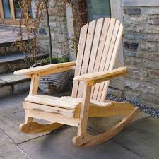 4 Beautiful Outdoor Wooden Rocking Chairs Homelilys Decor With Idea 5