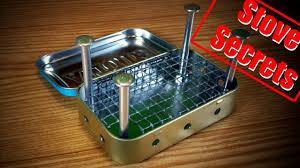 how to make a mini wood stove easy u0026 effective youtube