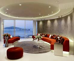 100 Modern Home Decoration Ideas Rumah Rumah Minimalis Interior Living Orange