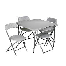 Cosco Folding Chairs Canada by Folding Card Table And Chairs 5 Pc Set