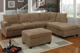 Brown Corduroy Sectional Sofa by Corduroy Chaise Couch Thesecretconsul Com