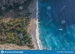 100 Butterfly Beach The Wonderful Seaside Of The Southern Turkey Stock