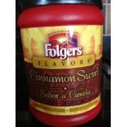 Folgers Coffee Ground Cinnamon Swirl