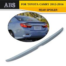 ABS Car Truck Spoiler Boot Wing Tail Lip Unpainted Fit For Toyota ... Vicrez Chevrolet Silverado Gmc Sierra 072013 Premier Nascar Style Rear Spoiler Bizon Truck Cab Spoiler Youtube Duraflex 112720 Downforce Fiberglass Rear Droptail Aerodynamic Benefits Mpg Droptailcom Guy Puts Giant Star Wars On Back Of Truck Pic Daf Xf 105 Bumper Solguard Exclusive Parts Hdware Egr Tonneau Cover With Spoilerlight Man Tgs Roof And Fairings Lamar Dodge Charger 12014 3 Piece Polyurethane Wing