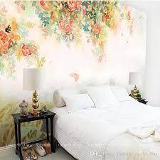 Elegant Photo Wallpaper Rose Flower Wall Murals 3D Custom Kids Bedroom Living Room Girls Decor Interior Design Art Watercolor