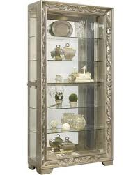 deals on p021559 84 scroll side entry mirrored curio with with