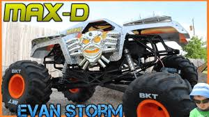 100 Monster Truck Power Wheels RC Video For Kids Axial Jam MAX D Father Son