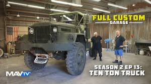 Full Custom Garage – Season 2 Episode 13: Ten Ton Truck From ... China Hot Sale10 Ton Truck Crane Mounted Photos Pictures 10 Cheap Wrecker Tow Trucks For Salewreck Towing Sale Custermizing 8x4 Ton At 2m Truck Mounted Crane Sq10s4 High Ton Daf Lf Curtain Side With Tail Lift Youtube Howo Lorry For Cargo 1955 Military Mack M123 6x6 No Reserve Left Hand Drive 2700 Ati Tyres 26 On Springs New Isuzu Ftr With Loading Package Truck 10ton Combo Lightinggrip Hire Talco Lighting Secohand Lorries And Vans Curtain Side Daf