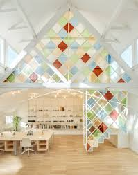 100 Define Glass House Stained Glass Dividers Define London Coworking Space Inside