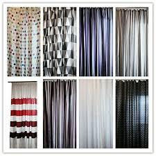 duschvorhang textil bad vorhang badezimmer vorhang incl