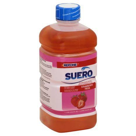 Repone Suero Electrolyte Solution - Strawberry, 1L