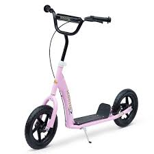 homcom tretroller scooter 12 zoll cityroller kinder roller