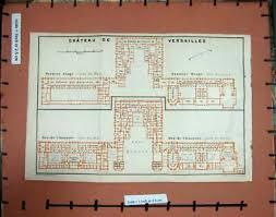 Chateau Floor Plans Château De Versailles Premier Etage Rez De Chaussée Floor