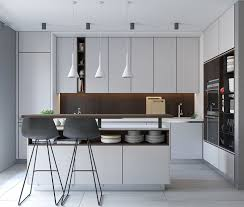 50 Modern Kitchen Designs That Use Unconventional Geometry