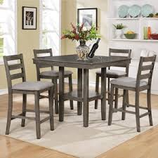 Belfort Essentials Tahoe 5 Piece Counter Height Table And Chairs Set