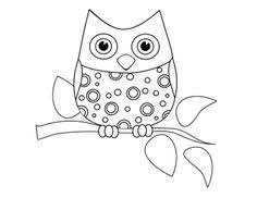 Funny Little Owl Coloring Pages Printable For Kids