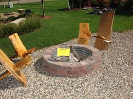 Diy Pea Gravel Patio Ideas by Exterior Exciting Lowes Fire Pit Kit With Pea Gravel Garden For