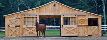 Shed Row Barns For Horses by Horse Barns Prefabricated Barns Horizon Structures