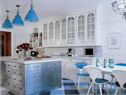 Traditional Blue And White Kitchen