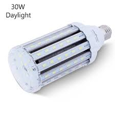 30w daylight led corn light bulb for indoor outdoor large area