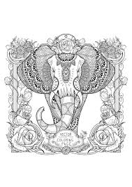 Tall Like An Elephant Beautiful A Zentangle