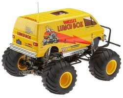 100 Monster Truck Lunch Box Tamiya RC Kit CW01 112