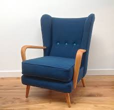 Vintage 1950s Howard Keith Wing Back Armchair - Teal Kvadrat Wool ... 1950s Armchair In Pigeon Bluelight Gray For Sale At Pamono Pink Beech Wingback Armchair By Howard Keith Mark Parrish Mid Century Guillerme Et Chambron French Grand Repos 642 Arp Steiner Midcentury Red Design Market Fabulous Hobson May Collection Retro Chairs Pair Of Upholstered Armchairs Buoyant Italian
