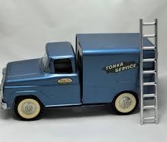 Vintage 1959-60 Tonka Service Truck W/ Ladder -Original ***VERY NCE