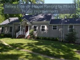 Monk s Home Improvements Exterior Paint Job New Providence